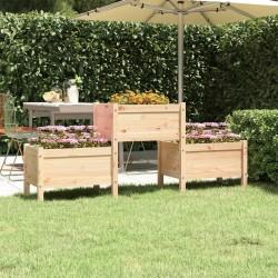 vidaXL Sillas de camping estilo mariposa plegables 2 unidades marrón