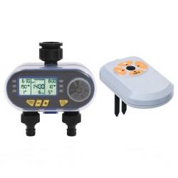 vidaXL Carpa pleglable Pop-Up con 2 paredes 3x3 m antracita