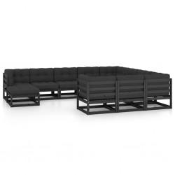 vidaXL Carpa plegable Pop-up con 8 paredes laterales 3x9 m crema