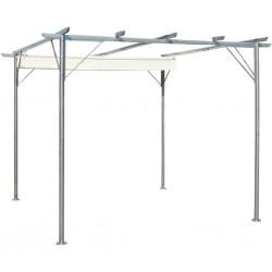 vidaXL Puerta de valla de madera de pino impregnada 100x120 cm