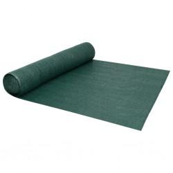 vidaXL Alambrada galvanizada con revestimiento de PVC verde 25x0,75 m
