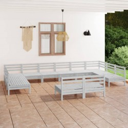 vidaXL Lona impermeable 260 g/m² 1,5x10 m blanca