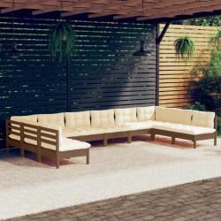 vidaXL Lona impermeable 260 g/m² 3x5 m blanca