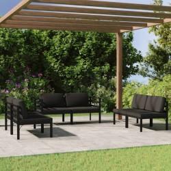 vidaXL Lona impermeable 260 g/m² 4x6 m blanca