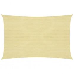 vidaXL Lona impermeable 260 g/m² 4x10 m blanca