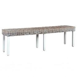 vidaXL Caja de almacenamiento de jardín 90 L gris claro