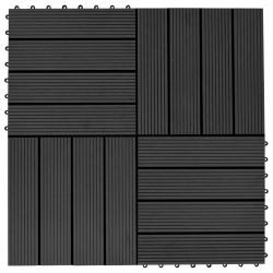 vidaXL Caja de almacenamiento de jardín 90 L marrón