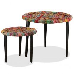vidaXL Caja de almacenamiento de jardín 280 L marrón