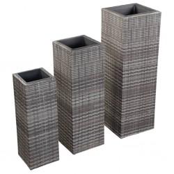 vidaXL Clavijas de postes de valla 2 unidades acero