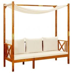 vidaXL Brasero de mosaico cerámica terracota 68 cm