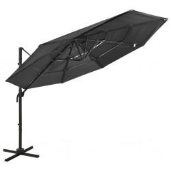 vidaXL Panel de calefacción blanco 311mm x 1800mm