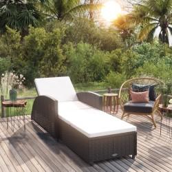 vidaXL Caseta de almacenamiento jardín acero marrón 194x121x181 cm
