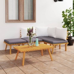 vidaXL  Pesos para cenador/carpa 4 unidades PE blanco