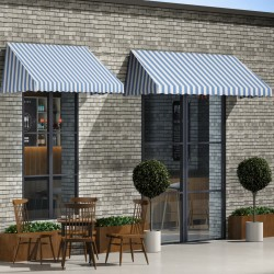 vidaXL Mesa para empapelar plegable de MDF y aluminio 300x60x78 cm