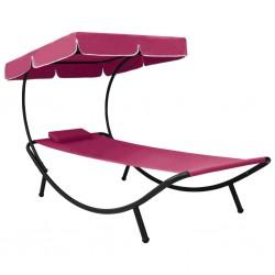 vidaXL Base de sombrilla de hierro fundido color bronce 12 kg 49 cm