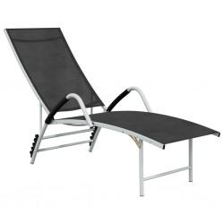 vidaXL Cenador para pared con tejado retráctil gris antracita 3x3 m
