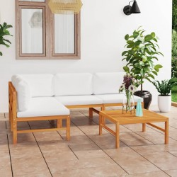 vidaXL Cenador con cortina gris antracita 400x300 cm