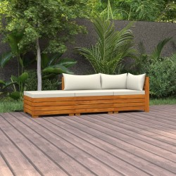 vidaXL Mesa de camping plegable de aluminio gris 120x60 cm