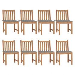 vidaXL Mesa de camping plegable aluminio gris 60x45 cm