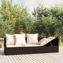 vidaXL Sistema de panel de ducha de jardín acero inoxidable cuadrado