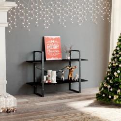 vidaXL Plato de ducha de jardín WPC acero inoxidable marrón 110x62 cm