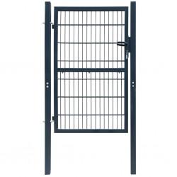 vidaXL Base de sombrilla rellenable arena/agua plástico marrón 20 L