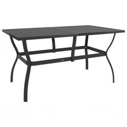 vidaXL Cenador plegable con 2 paredes azul 5x5 m