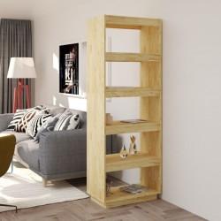 vidaXL Postes de valla 2 unidades madera pino impregnada 7x7x150 cm