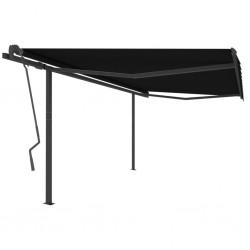 vidaXL Puertas de valla 2 uds madera pino impregnada 300x100 cm