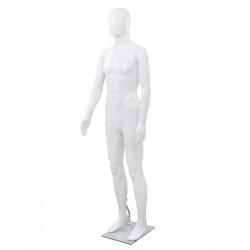vidaXL Perchero ajustable para ropa 4 ruedas 1 barras