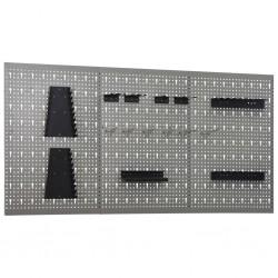 vidaXL Mosquitera para cama cuadrada 3 aberturas 2 unidades