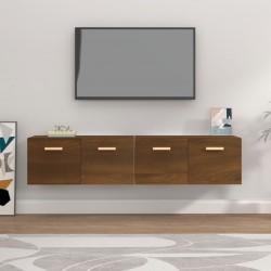 2 Fundas de algodón gris antracita para colchón 120x200-130x200 cm