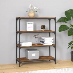vidaXL Reloj de pared de cuarzo higrómetro y termómetro 30 cm negro