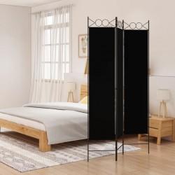 vidaXL Juego de sartenes 5 piezas aluminio negro