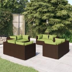 vidaXL Aspiradora de mano sin cable multiciclónica 2 en 1 rojo 120 W