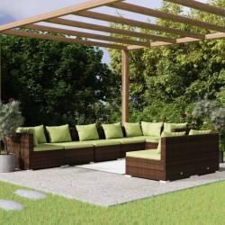vidaXL Papelera con cenicero de acero negro 36 L