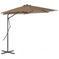 vidaXL Cestas de muro de gaviones alambre galvanizado 25x25x50cm 3 uds