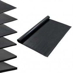 vidaXL Cerca para césped de hierro recubierto en polvo 10x0,4 m