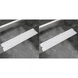 vidaXL Kit de batería completa acero azul junior