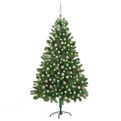 vidaXL Armario dee lavadora aglomerado blanco brillante 64x25,5x190 cm