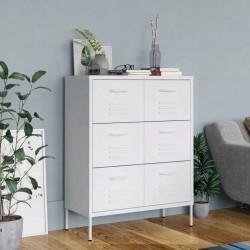 vidaXL Estantería/divisor de espacios aglomerado gris 45x24x159 cm