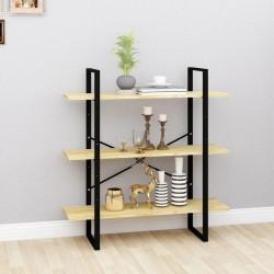 vidaXL Estantería/mueble TV aglomerado gris brillante 36x30x114 cm