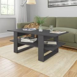 vidaXL Armario de oficina de aglomerado gris hormigón 60x32x190 cm