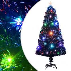 vidaXL Malla mosquitera de fibra de vidrio negra 100x1000 cm