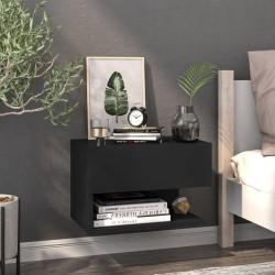 vidaXL Escritorio con estantes aglomerado gris hormigón 110x45x157 cm