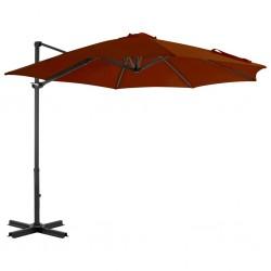 500 g/m² Bata de algodón unisex color gris antracita, talla XXL