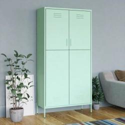 vidaXL Escritorio de aglomerado blanco 100x50x76 cm