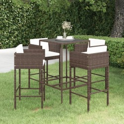 vidaXL Armario con cajones aglomerado blanco y Sonoma 50x50x200 cm