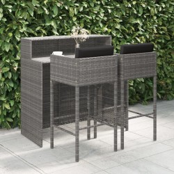 vidaXL Armario de aglomerado blanco con brillo 90x52x200 cm