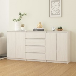 vidaXL Armario de aglomerado gris con brillo 90x52x200 cm